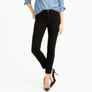 J. CREW Lookout Black High Rise Skinny Jeans